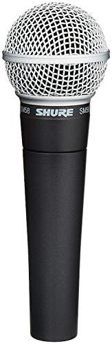 Shure Sm58-Lce Microfono Professionale Dinamico E Cardioide, Senza Cavo