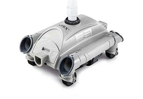 Intex 28001 Robot Pulitore Automatico per Piscina Fuoriterra Interrata, Grigio/Blu, 50,8 x 39,5 x 30,6 cm, Funziona con pompe filtranti con un flusso da 6,06 m3/h a 13,25 m3/h