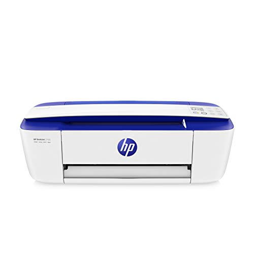 HP DeskJet 3760 T8X19B Stampante Fotografica Multifunzione A4, Stampa, HP Scroll Scan, Wi-Fi, Wi-Fi Direct, HP Smart, No Stampa Fronte/Retro Automatica, 4 Mesi di HP Instant Ink Inclusi, Blu