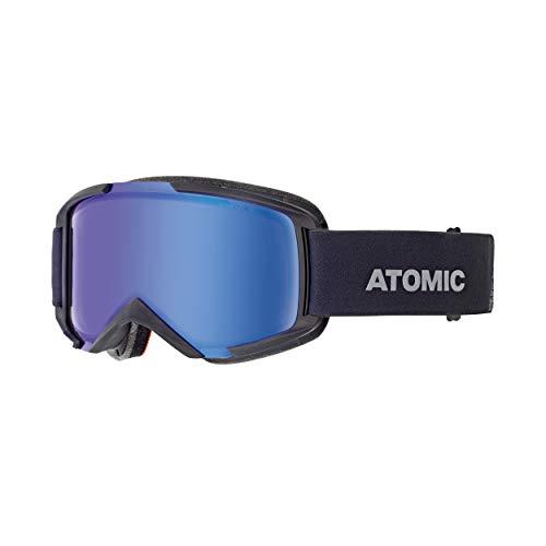 Atomic AN5105844 Savor Photo, Maschera da Sci All-Mountain, Unisex, Medium Fit, Lente Fotocromatica, Nero/Blu Fotocromatico