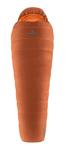 Ferrino Lightec 1000 g Duvet Sacco a Pelo, Unisex Adulto, Arancio, Taglia Unica