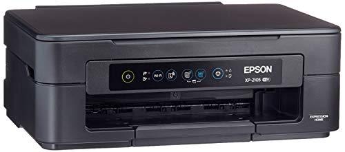 Epson Expression Home XP-2105 Stampante 3-in-1, Stampa da Dispositivi Mobili, Cartucce di Inchiostro Separate, Wi-Fi e Wi-Fi Direct, 8 pagine/min Monocromatico, 4 pagine/min Colour