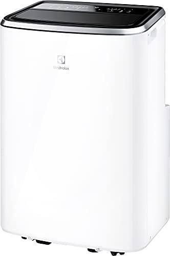 Electrolux Condizionatore Portatile EXP26U338CW, 10,5k, Self Evaporative System, Display Premium, Filtro Antibatterico, Timer 24h, R290