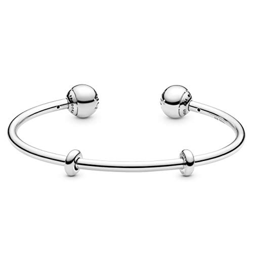 Pandora 596477-2 Bangle Donna, argento, 17.5 cm