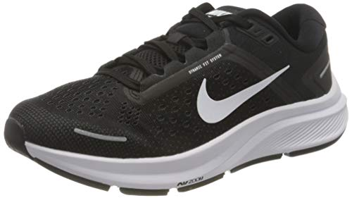 Nike W Air Zoom Structure 23, Scarpe da Corsa Donna, Black/White-Anthracite, 39 EU