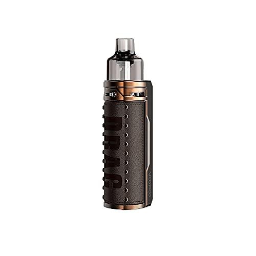 VOOPOO Drag S Box Kit 4.5ML 2500mAh 60W Kit Complet Cigarette Electronique Kit de démarrage-Senza nicotina e tabacco (Bronze Knight)