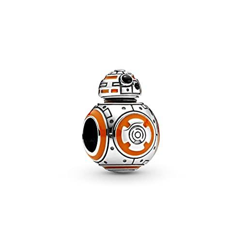 Pandora 799243C01 - Ciondolo a forma di Star Wars BB-8, in argento Sterling
