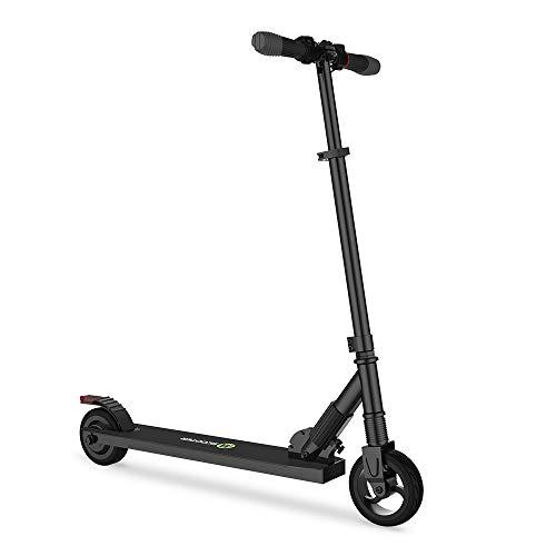 Mtricscoto Monopattino Elettrico, Pieghevole Scooter Leggero Altezza Regolabile, 250W 23km/h Massima velocità, per Adulto Pendolarismo/Bambini Regalo Nero