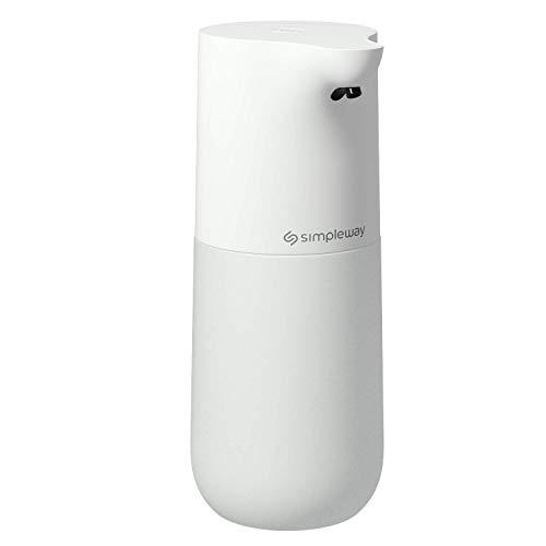 Simple Way Dispenser di Sapone Automatico, 533ML Dispenser di Lavaggio a spruzzo di Alcol Riutilizzabile con sensore di Movimento ad Alta capacità