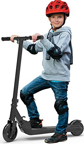 Riding' times Monopattino Elettrico per Bambini 4-10 anni, 120W Electric Scooter Pieghevole, Farthest Riding 7km, Velocità massima 7km/h, Tempo di ricarica 2 ore, Ragazzo o ragazza adatto