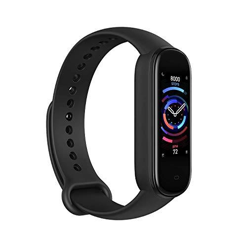 Amazfit Band 5 Smartwatch Tracker Fitness Orologio Sport Smartband con Alexa Integrato Impermeabile 5 ATM di 15 Giorni, Contapassi, Monitoraggio Frequenza Cardiaca del Sonno e della Salute - Nero