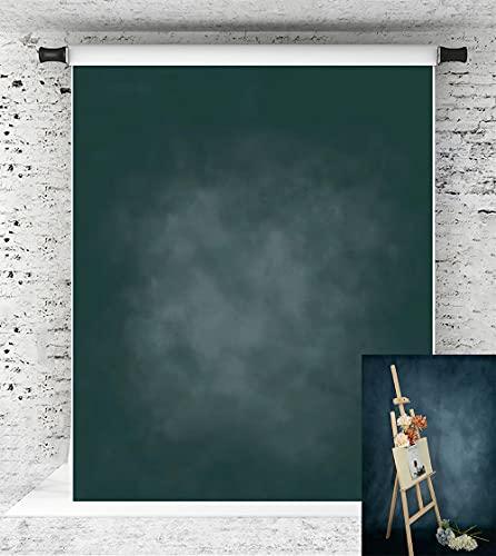 Katehome Photostudios 1.5X2.2M(5X7Ft) Sfondo Verde Ritratto Sfondo Verde Fotografia In Microfibra Sfondo Astratto Foto
