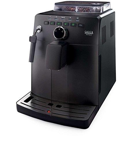 Gaggia HD8749/01 Naviglio - Macchina da Caffè Automatica, per Espresso e Cappuccino, Caffè in Grani, 15 bar, 1850W, Nero