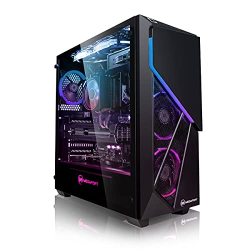 Megaport PC-Gaming AMD Ryzen 5 5600X 6x 3.70GHz • Nvidia GeForce RTX 3060 12GB • 1TB M.2 High Performance SSD • 16GB DDR4 3000 RAM • Windows 10 • WiFi