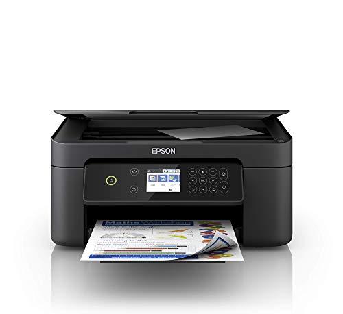 Epson Expression Home XP-4100 Stampante 3-in-1, Stampa Fronte/Retro in A4, Display LCD 6.1 cm, Stampa da Dispositivi Mobili, Wi-Fi e Wi-Fi Direct, Cartucce Separate, Nero
