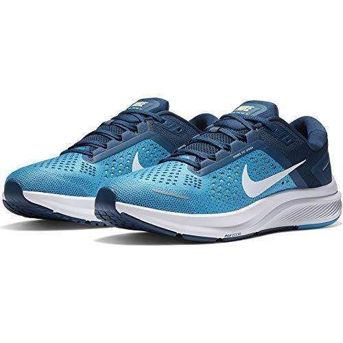 Nike Air Zoom Structure 23, Scarpe da Ginnastica Uomo, Laser Blue/Valerian Blue, 42 EU
