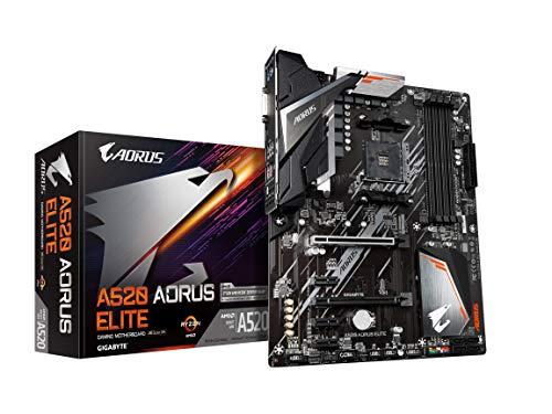 Gigabyte A520 AORUS Elite (AM4/AMD/ A520/ATX/M.2/SATA 6Gb/s/USB 3.2 Gen 2/Realtek GbE LAN/scheda madre)