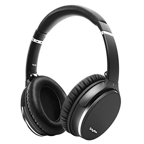 Cuffie Cancellazione del Rumore Wireless Bluetooth 5.0, Srhythm NC35 Auricolare Leggero Over-ear con Tipo C Carica Rapida,Vocale Controllo,Microfono CVC8.0, 40+ ore di Riproduzione