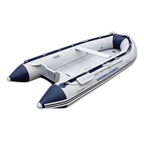 Tender Hydro-Force per 6 persone con pianale in alluminio completo di accessori