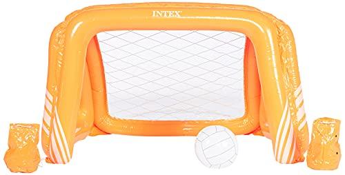 Intex- Porta Pallanuoto Gioco, colori assortiti, 140 x 89 x 81 cm, 58507NP