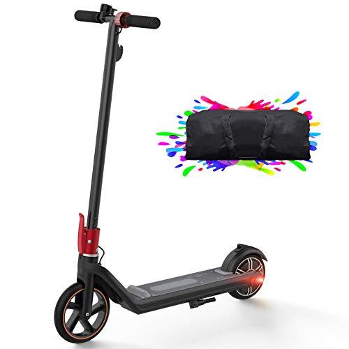 urbetter Monopattino Elettrico, 15 Km di Autonomia, velocità Fino a 15 Km/h, Ruote de 8'/6.5' Stunt Scooter, 150W Ultra Leggero Scooter Elettrico Pieghevole per Adulti e Bambini - MINI2