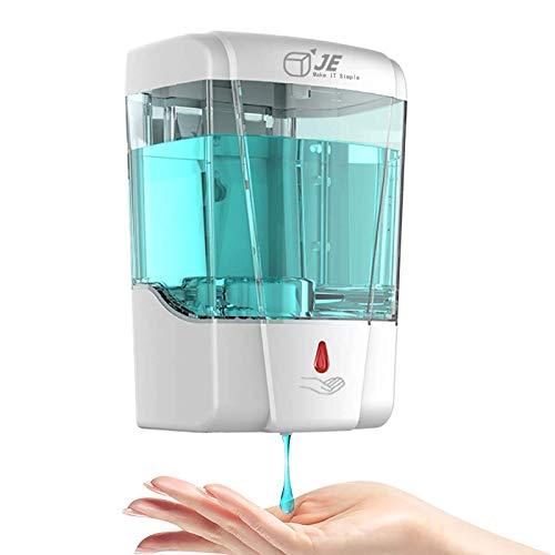 JE Make IT Simple 700ml Dispenser di Sapone Automatico Toccare fissato al Muro Pompa Home, Office, Ospedale, Hotel, Restaurant (Goccia 700 ml)