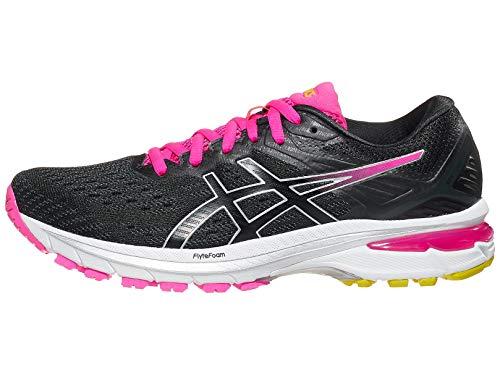 ASICS Women's GT-2000 9 Running Shoes, 9.5M, Graphite Grey/Black