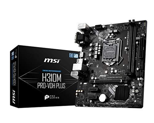 MSI H310M PRO-VDH PLUS scheda madre LGA 1151 (Presa H4) Intel H310 micro ATX