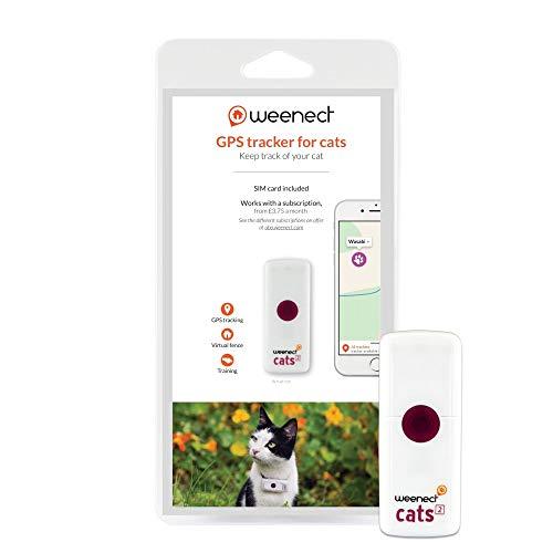 Weenect Cats 2 - Il più piccolo collare GPS per gatti al mondo