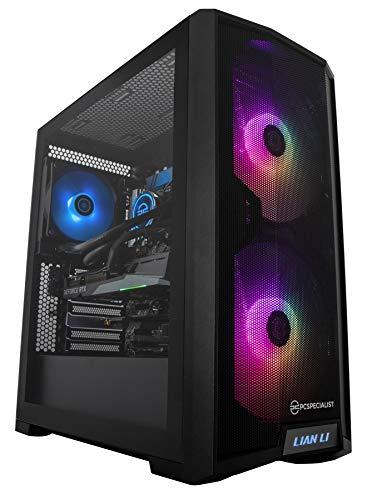 PCSpecialist Pro PC Gaming - Intel® Core™ i7-10700K 3,80 GHz 8-Core, 16 GB RAM, GEFORCE RTX 3060 12 GB, 1 TB M.2 SSD