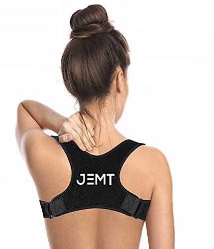 Fascia Posturale JEMT 3.0 Spalle e Schiena Uomo Donna, Correttore Postura Collo, Tutore, Nuovo Design Sportivo, Alta Qualità, Correggi Migliora Postura, Body Posture Corrector