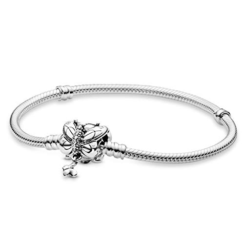 PANDORA Bracciale con Charm Donna argento - 597929CZ-19