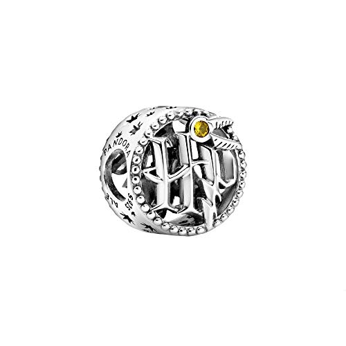 Pandora Charm Harry Potter, in argento Sterling con cristallo color miele