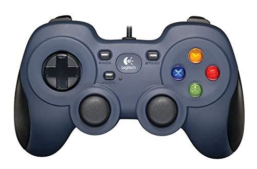 Logitech F310 Gamepad, Controller Cablato con Layout Stile Console, Tastierino Direzionale 4 Switch, XInput/DirectInput, Impugnatura Comoda, Cavo da 1.8 m, PC/Steam/AndroidTV, Pacchetto Inglese