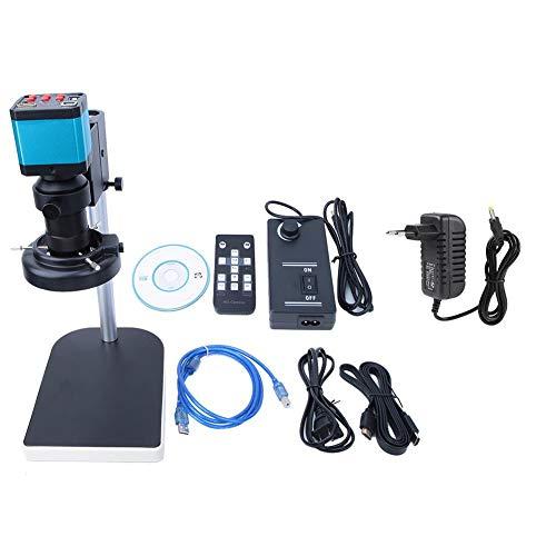 FastUU Microscopio Digitale, 14 Milioni di Pixel LED USB 2.0 e HDMI interfaccia microscopio Industriale, sensore CMOS videocamera microscopio HD per microelettronica, Gioielli, Orologio(100-240V)