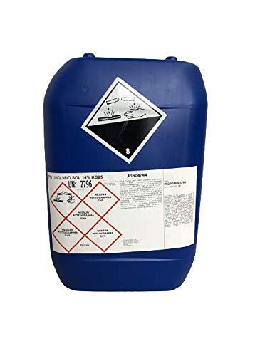Brenntag PH Meno Liquido Piscine Correttore Abbattitore PH Acido Acqua Piscina Liquido kg 25