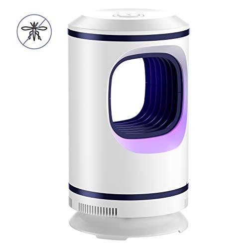 CLUINIGO Lampada Antizanzare Elettrica, Anti-zanzara, USB Trappola Mosquito Killer Fisica UV Sicura Contro i Raggi UV