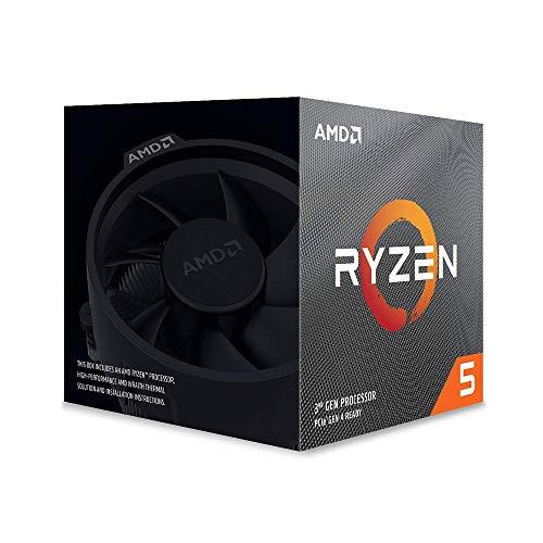 AMD Ryzen 5 3600X, Processore PC, 6 core, 12 thread, 4,4 GHz, Socket AM4