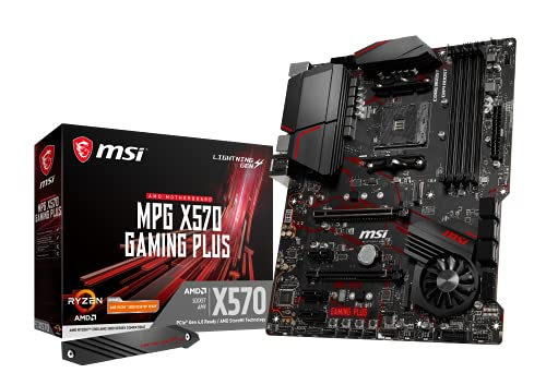 MSI MPG X570 GAMING PLUS Scheda madre per Gaming AMD AM4 DDR4 M.2 USB 3.2 Gen 2 HDMI ATX