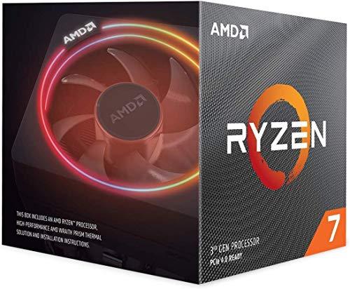 AMD Ryzen 7 3700X, processore Wraith Prism per dissipatore di calore (32 MB, 8 core, velocità 4,4 GHz, 65 W)
