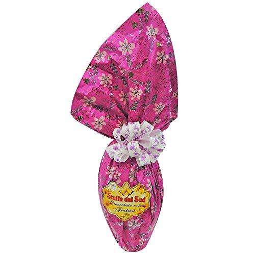 uovo di pasqua cioccolato FONDENTE 1kg stella del sud