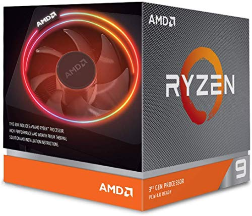 AMD Processore RYZEN9 3900x Socket AM4