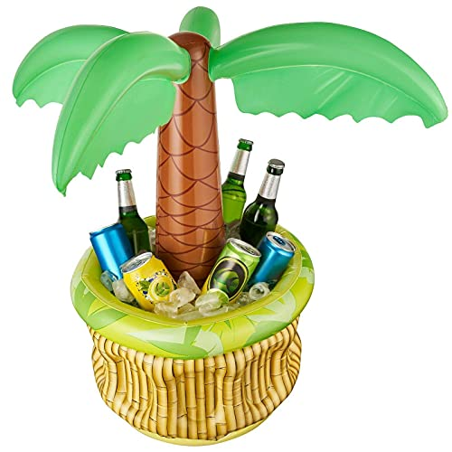 Balinco Gonfiabile palma refrigerante per birra, per feste e gelati