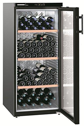 Liebherr WKB 3212 Libera installazione Cantinetta termoelettrica Nero 164bottiglia/bottiglie A cantina vino