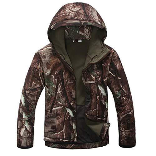 KALUNBS Camouflage Hunting Shooting Jungle Hidden Sports Jacket Camicia e Pantaloni Uniforme Mimetica Camuffare