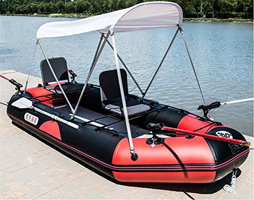 POTA 3-Persona Kayak gommone alla deriva Barche d'assalto ispessite peschereccio