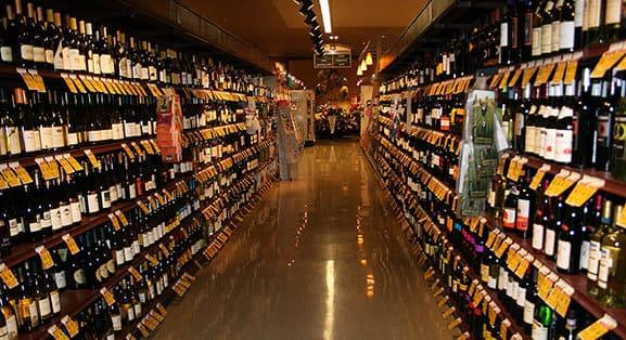 acquistare buoni vini al supermercato