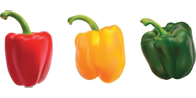 rendere più digeribili i peperoni