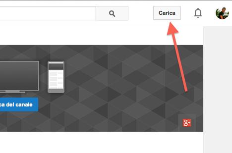 aprire un canale YouTube