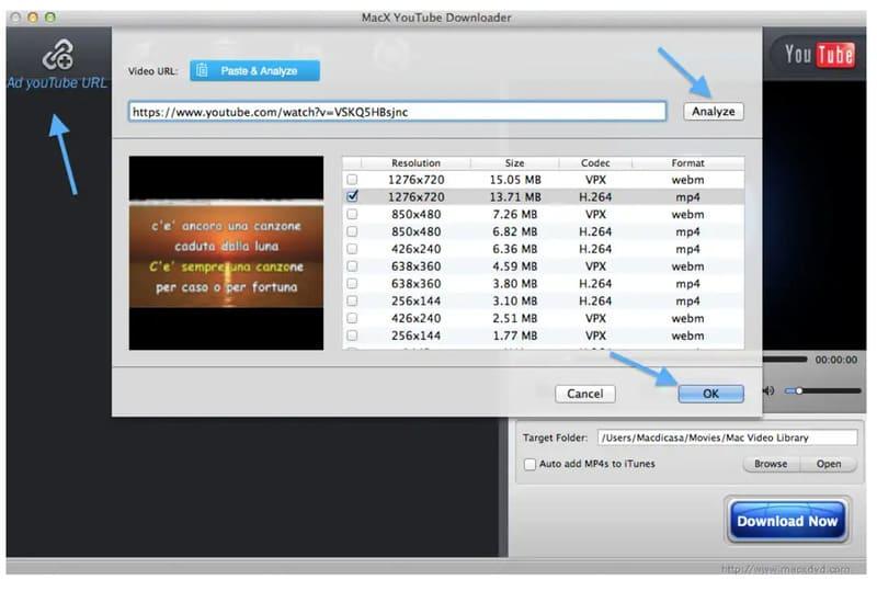 scaricare video da YouTube con Mac